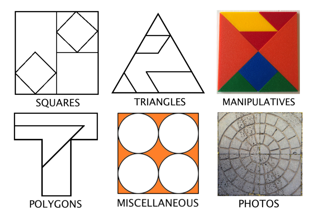 Fraction Talk: Visuals for fraction talks